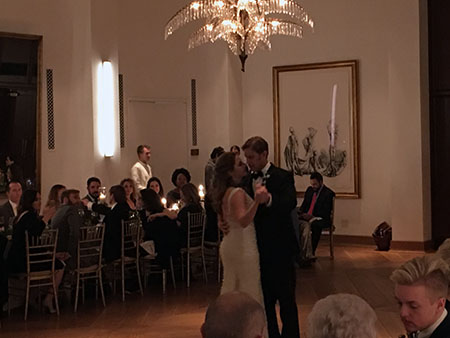 Casey Brad First Dance At The Dewberry