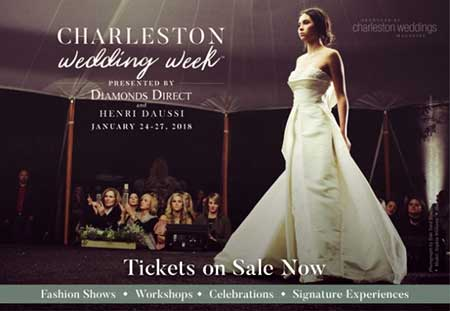 Charleston Weddings Mag Week