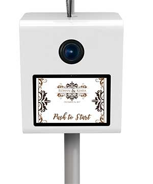 Custom Touchscreen Lowcountry Photo Booth Wedding