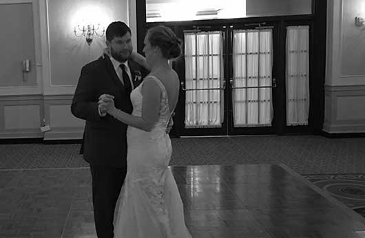 Erin Alex First Dance Francis Marion Hotel