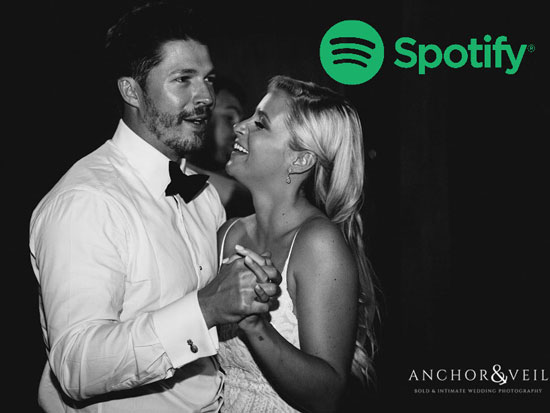 Follow DJ Mike Bills For Wedding Playlists On Spotify