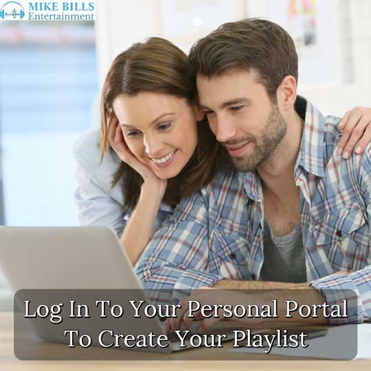 Log In To Create Your Own Wedding Playlist