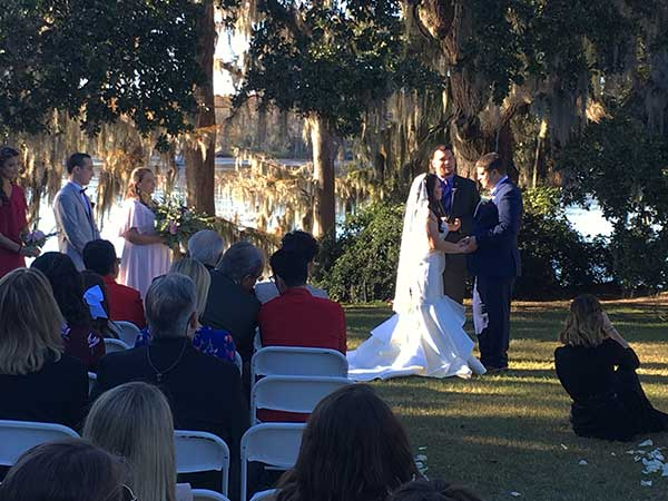 Luciana And Ty Wachesaw Plantation Wedding Ceremony