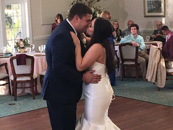 Luciana And Ty First Dance Song Wachesaw Plantation