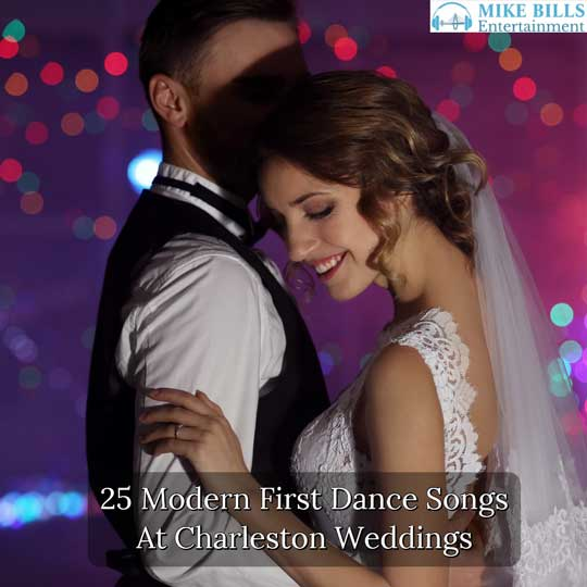 Modern First Dance Choices At Charleston Weddings