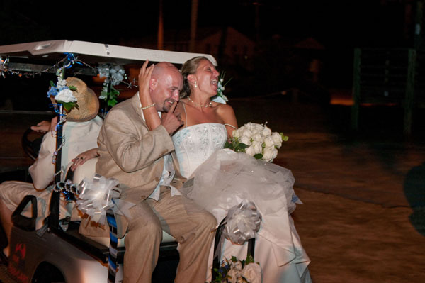 Recessional Songs Bride And Groom Golf Cart