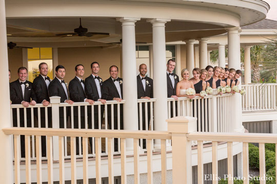 Seabrook Island Club Bridal Party Veranda