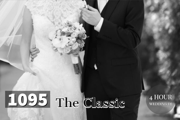 The Classic wedding dj package