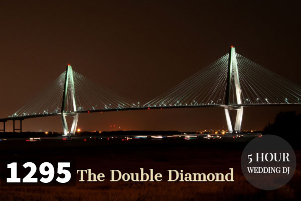 The double diamond wedding dj package
