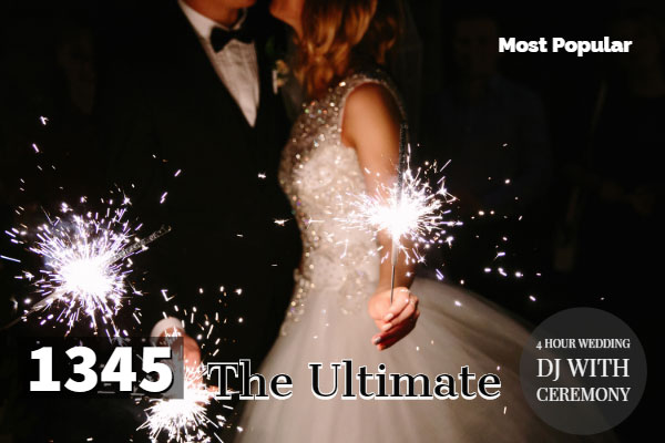 The ultimate wedding dj package