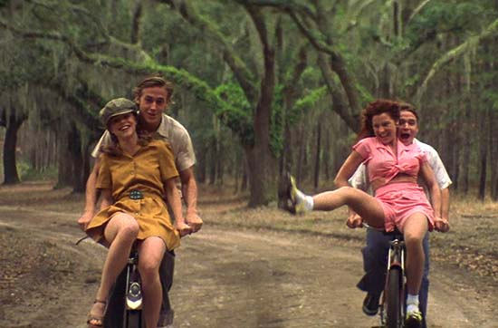 The Notebook Bike Scene Boone Hall Plantation