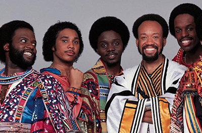Earth Wind Fire is an essential Chicago band for destination brides and grooms from the Windy City