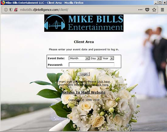 Online Wedding Planning tools - DJ Charleston
