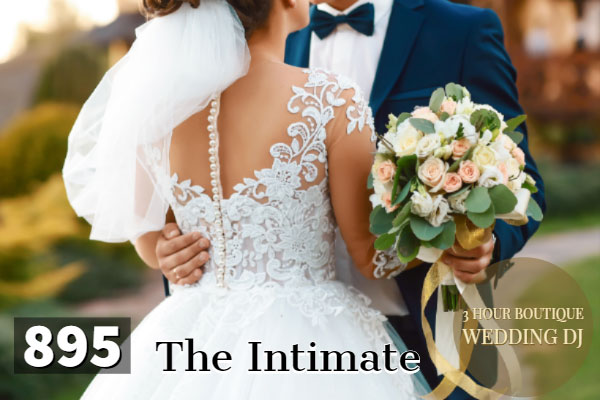 the intimate boutique wedding dj