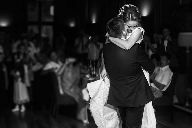 Modern brides and grooms are choosing more modern songs for their first dance song at their Charleston wedding