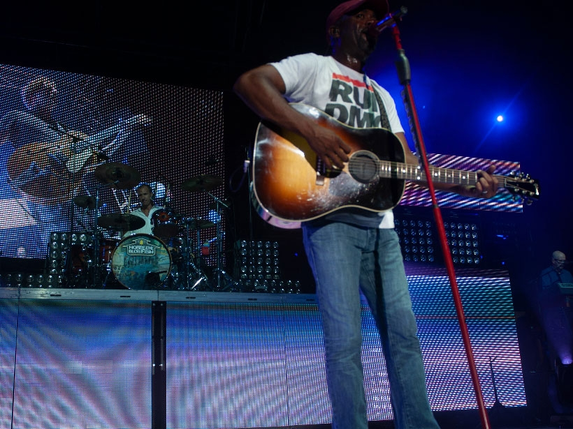 Hootie & The Blowfish Perform At Their Annual Homegrown Concert On Daniel Island in August 2010