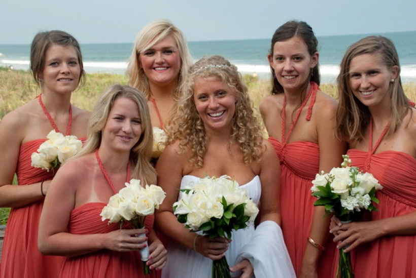Brides and Bridesmaids.