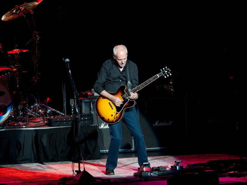 Peter Frampton in concert at the North Charleston Performing Arts Center - August 3, 2010