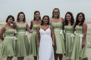 The perfect timeline for your wedding allows you to enjoy every fine detail of your special day, like making sure you get one more photo with you and your bridesmaids on the beach