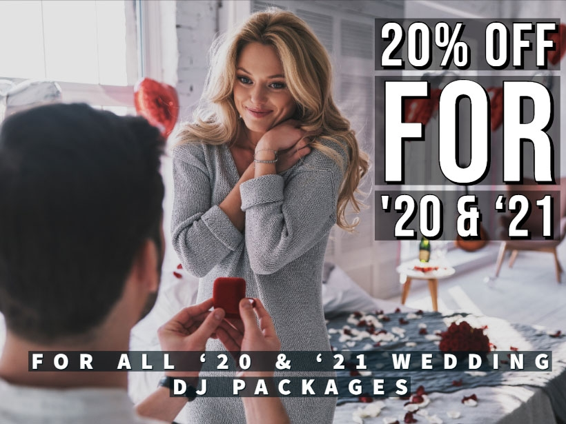 Book One Of The Best Charleston Wedding DJs: 20% Off ALL 2020 and 2021 Brides