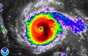 Hurricane Irma Grew Into The Strongest Hurricane Ever In The Atlantic Ocean, But It's Catastrophic Wrath Will Luckily Spare Charleston