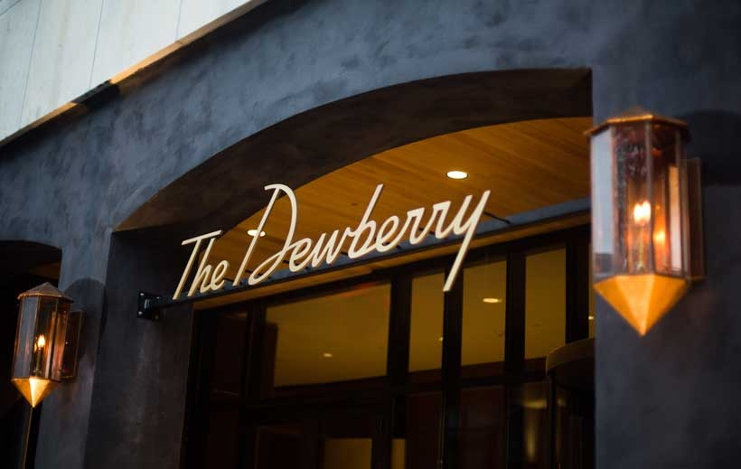 The Dewberry, located at 334 Meeting St is a luxurious 5 star hotel that opened back in the summer of 2016