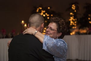 The mother son dance is a wonderful follow-up to the father - daughter dance and is a special moment for the groom and his mother.