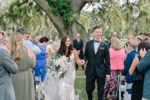 "Millie & Adam out at Brookland Plantation shortly after their ceremony was over. Recessional song was ""Sweet Child Of Mine"" by G&R"