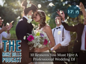 Since the entertainment for your wedding day is important, your wedding DJ should be professional