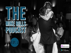 Episode 2 of The Mike Bills Podcast features a Charleston bride Q & A with a wedding DJ and so much more