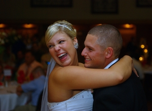 Finding The Right DJ For Your Charleston wedding makes for a happy bride and groom