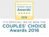 2016 Weddingwire Couples Choice Award Winner