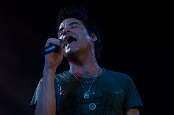 Pat Monahan and Train at the Volvo Car Stadium back in August 2010. Train had some great soft rock songs that from the 2000s being played at Charleston weddings