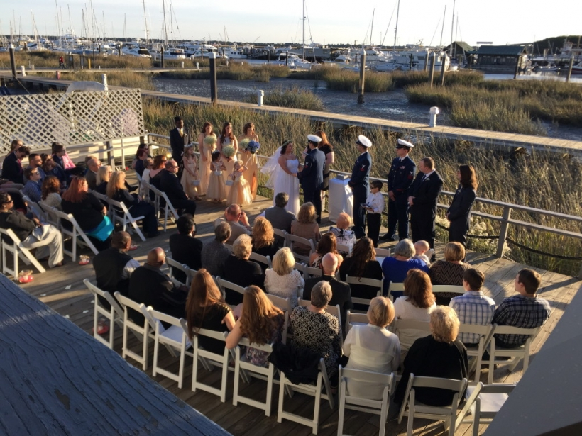 Fallon & Tyler - Wedding Ceremony At Charleston Yacht Club
