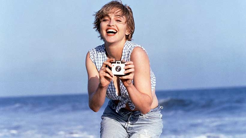 Happy 60th Birthday To Madonna | The Queen Of Pop. Enjoy this look back at some of her greatest music from the 80s and beyond. Here she is on the beach in 1989.