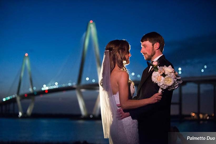 Your professional wedding photographer will go wild with all the awesome views when you have your wedding at Harborside East