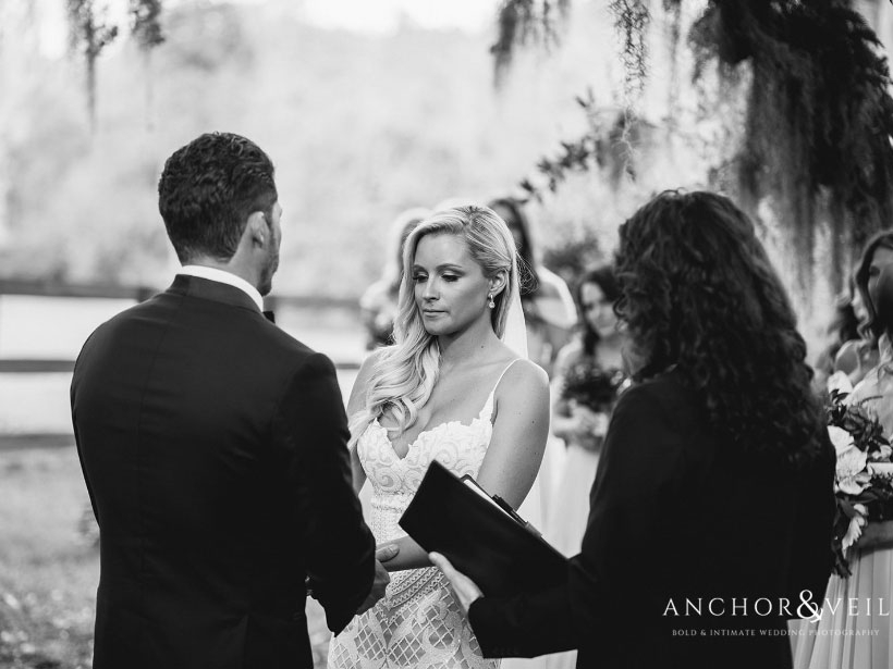 Wedding Ceremony At Magnolia Plantation - November 2014