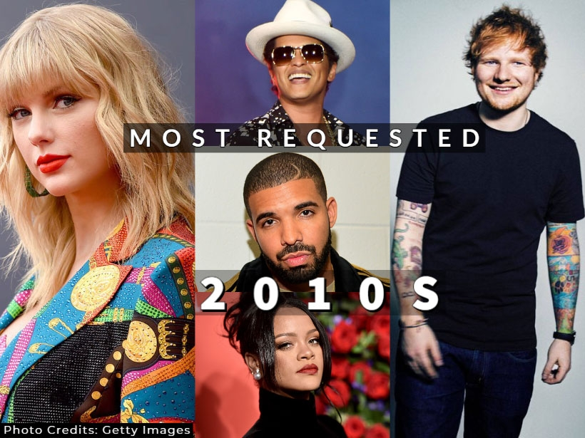 50 Most Popular Songs Of The 2010s For Your Wedding Playlist