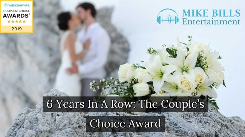 6th Couples Choice Award For Being One Of The Best Charleston Wedding DJs